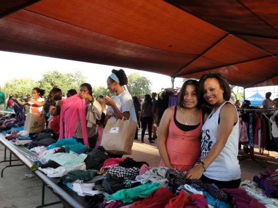 Mia's Closet Back to School Block Party -Mia's Closet Shoppers