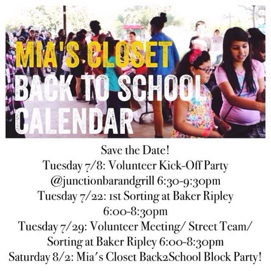 Back2School Calendar