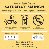 Celebrate with Mia's Closet this Saturday: Aces of Taste #GetBrunchGiveBack!